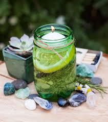 diy floating candles citronella diffuser mason jar