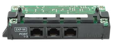 ведущая <b>плата расширения</b> на 3 порта <b>Panasonic KX</b>-<b>NS5130X</b> ...