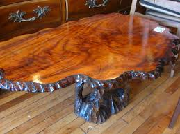 trunk table furniture. Furniture:Coffee Table Pedestal Base Classic Style Solid Rustic Tree Trunk Coffee Design With Furniture