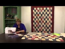 690 best Missouri Star Quilt Co images on Pinterest | Baby quilts ... & Tumbler Chevron Quilt: Easy Quilting Tutorial with Jenny Doan of Missouri  Star Quilt Co Adamdwight.com