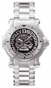harley davidson watches official uk retailer first class watches harley davidson mens willie g skull wrist watch 76a11