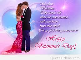 Valentines Day Quotes For Girlfriend Happy Valentine's day boyfriend wishes messages cards 37