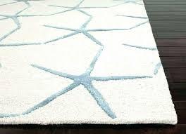 coastal area rugs seashell blue ivory rug 6 x 9 regarding plan 13