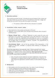 Nonprofit Business Plan Template Nonprofit Business Plan Sample Non Profit Templates Doc Free