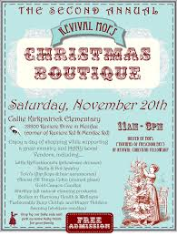 holiday boutique clipart clipart kid bake fundraiser flyer there will also be a bake
