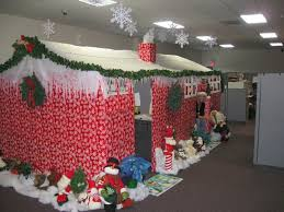 christmas office decorations ideas. Modren Ideas Office Christmas Decorations Ideas Brilliant Handmade Workstations With  Exterior Design Cubicles Holiday Decor DMA M