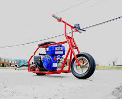 mini bike drag racing motor adorable red blue white aria quads