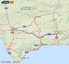 granada to seville trains