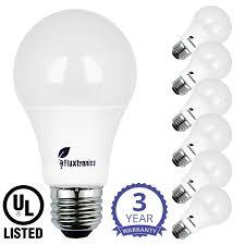 Eco Friendly Light Bulbs Mercury Fluxtronics A19 Led Light Bulbs 75 Watt 100 Watt Equivalent 1100 Lumens 5000k Daylight White Non Dimmable 11w 75w Light Bulb E26 Base Led