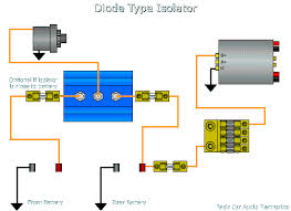 battery isolators diode based isolator