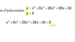 day 9 test c 5 and 6 solving systems of polynomial equations