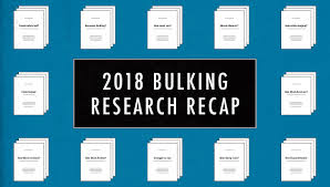 research review the most important bulking stus from 2018