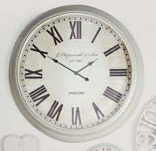 decorating beautiful large kitchen clocks 11 extra wall clock within best 25 cream ideas on