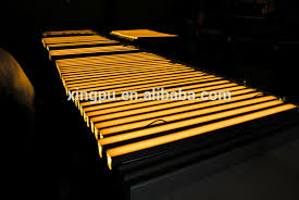 outdoor linear sign lighting new arrival linear 1m led park light recessed install 12w dc24v