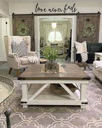 Add farmhouse charm to your living area with this cocktail table. Amazing Farmhouse Coffee Tables You Ll Love Farmhousehub