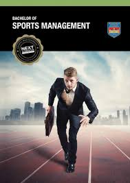 bachelor of sports management international college of course brochure
