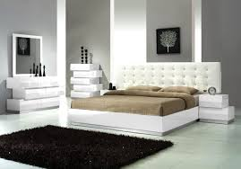 trendy bedroom furniture. Contemporary Bedroom Furniture White Rugs Black Mirror Frame Decorative Modern Design Trendy Y
