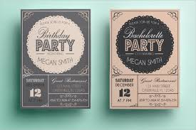 Birthday Party Invitation Card Template Free 31 Birthday Party Invitation Templates Sample Example Format