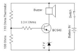 heat sensor electronic kits and simple electronics project circuit Simple Circuit Diagram heat sensor circuit diagram simple circuit diagrams worksheet