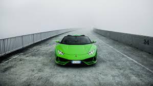Wallpaper Green Lamborghini Aventador ...