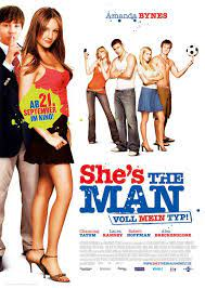 She's the Man Movie Poster (#2 of 3) - IMP Awards