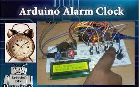 how to make arduino alarm clock