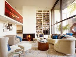 ... Decorate Stylish Interior Unique Large Living Room Layout Ideas Long  Living Rooms Racks High And Simple White Sofa And Eooden ...