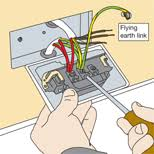 installing an outdoor socket diy tips, projects & advice uk lets double plug socket wiring diagram uk at Double Plug Socket Wiring Diagram