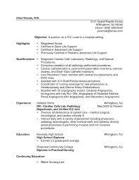 New Grad Rn Resume Samples Zromtk Cool Example Of A Resume