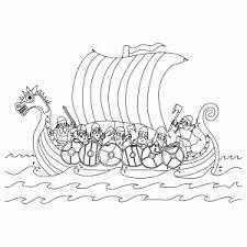 Noormannen En Vikingen Kleurplaten Leuk Voor Kids