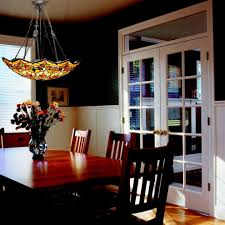 Stained Glass Light Fixtures Dining Room Fanoosit - Dining room light fixture glass