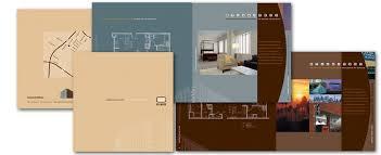 apartment brochure design. Linda Gray Design Brochures Apartment Brochure D