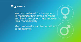 women preferred for the system to recognize their stress or mood and wanted the system to