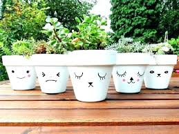 painting clay flower pots painted plant pots image gardening flower pots painted flower pots painted plant painting clay flower pots