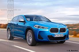 Coupe Series bmw x2 2016 : BMW X2 production version gets rendered