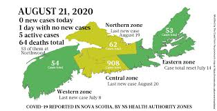 Nsw has two in intensive care, with one in their 30s. Just The News On Covid 19 In Nova Scotia For The Week Starting August 17 Covid 19