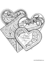 Small Picture Valentines Coloring Pages For Kids Miakenas Net Coloring