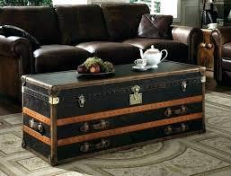 wicker chest coffee table s storage round