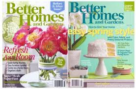 Small Picture Magazine Deal Better Homes and Gardens 5 Faithful Provisions