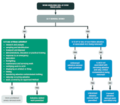 Asbestos Management Plan Flow Chart Management And Removal Of Asbestos Worksafe