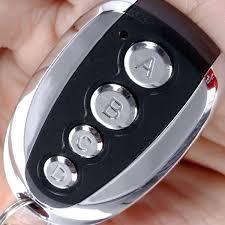 programmable garage door opener universal 4 ons cloning electric garage door remote control key fob programmable
