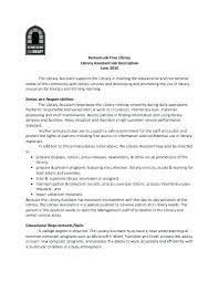 cover letter for library assistant job cover letter job  cover letter for library assistant job librarian assistant resume u2013 foodcity me
