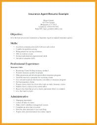 Insurance Resumes Awesome Life Insurance Resume Samples Insurance Agent Resume Examples