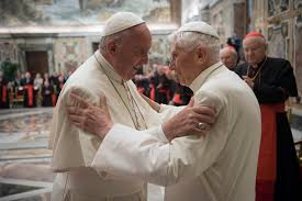 Image result for Photo of Pope benedict and Amoris Laetitia