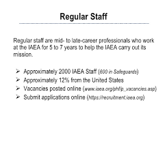 ngsi introduction to iaea careers  categories 12