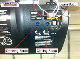 liftmaster program car how to program garage door opener to car purple learn on