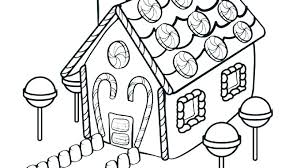 Gingerbread Coloring Pages Gingerbread Coloring Sheets House Color