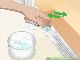 how to keep your sliding glass door tracks clean