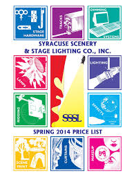 Syracuse Scenery And Stage Lighting Co Sssl Price List 3 20 14 Indd Syracuse Scenery Stage Lighting