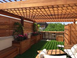 clear cedar pergola pergola with clear roof17